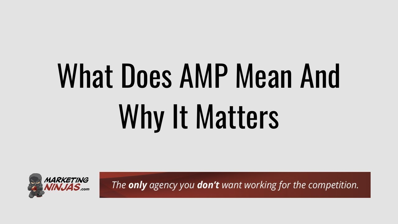 Meaning amp What Does