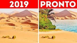 ¿Qué pasaría si el desierto del Sahara se inundara?
