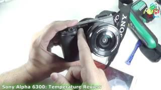 [Hindi-Audio]-Heating Spots in Sony Alpha A6300: Mirrorless Camera under Flir One