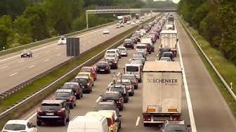 Stau, Stauwarnung, Verkehr, Verkehrsinformation, A1 (30.05.11)