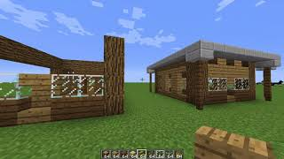 Tutorial How to make  7×7 starter house