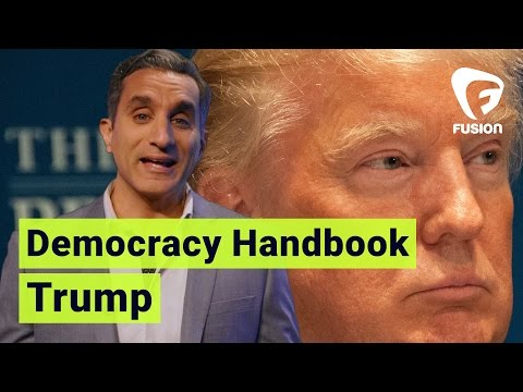 One Trump to Rule Them All • Democracy Handbook with Bassem
