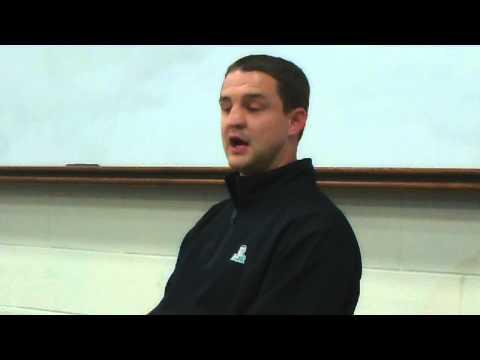 Butler University basketball coach Brandon Miller