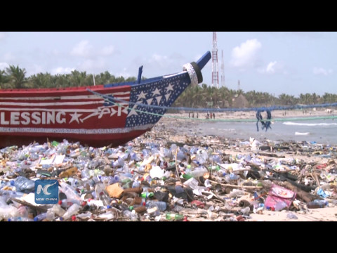 Plastic waste poses threat to Ghana's marine ecosystem