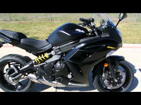 On Sale Now $5,999: 2013 Kawasaki Ninja 650 Black :Overview and Review
