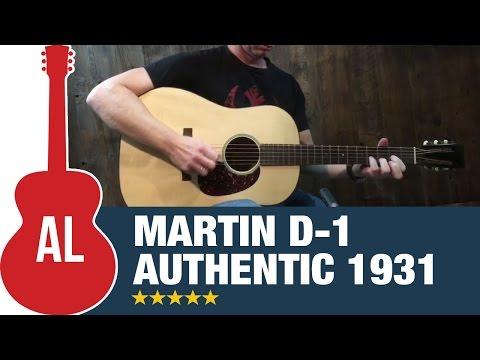 Martin D-1 Authentic 1931