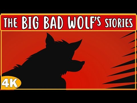 THE BIG BAD WOLF STORIES || CHILDREN STORIES IN ENGLISH