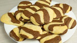 Простой рецепт песочного печенья.  Сладкая выпечка к чаю
