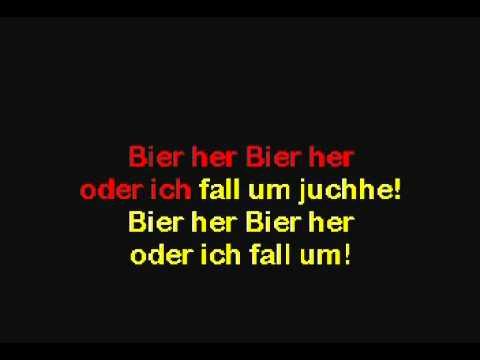 Bier Her Bier Her (German) wvocals