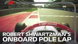 Robert Shwartzman Scores Final F3 Pole of the Season! | 2019 Russian Grand Prix