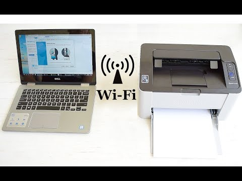 Easy Wi-Fi connection Setup for any Samsung laser printer