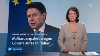 Themen der sendung: italien beschließt milliardenpaket für corona-maßnahmen, zahl corona-fälle in deutschland steigt weiter an, putin und erdogan einigen...