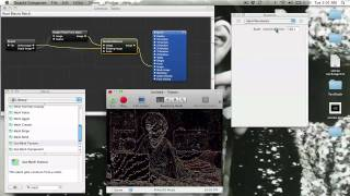 Repeat youtube video Kinect/Quartz Composer - contour lines