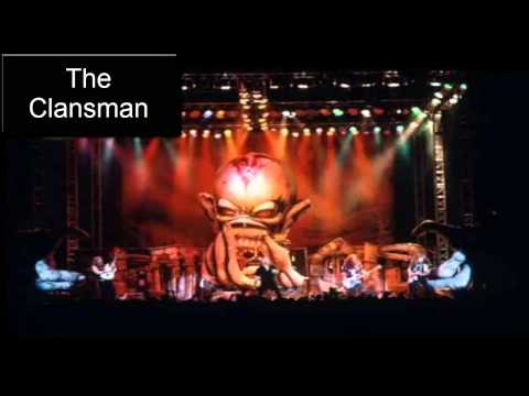 IRON MAIDEN - The Clansman (Live 1998) HQ.