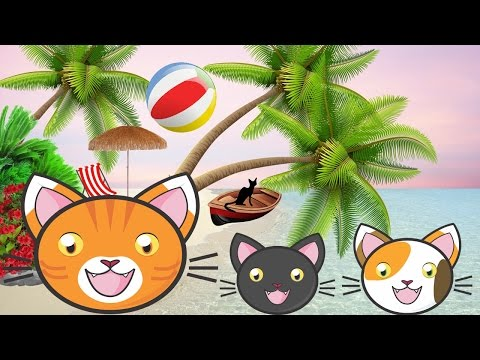 Happy Sweet Cats, On Holiday! New Kidssongs. Children Songs 2017.