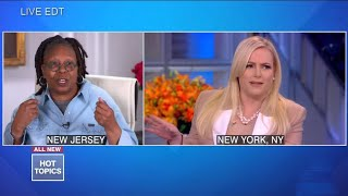 Whoopi Goldberg Goes Head-to-Head With Meghan McCain FROM HOME