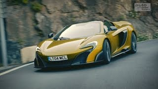 McLaren 675LT Spider: Atemberaubend schnell - Vorfahrt | auto motor und sport