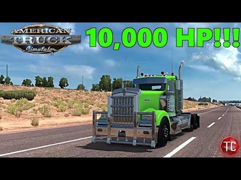 American Truck Simulator | 10,000 HORSEPOWER ENGINE!!!