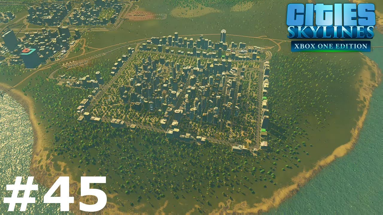 SETTING UP THE BEST PUBLIC TRANSPORT!   Season 2   Cities Skylines: Xbox  One Edition #45