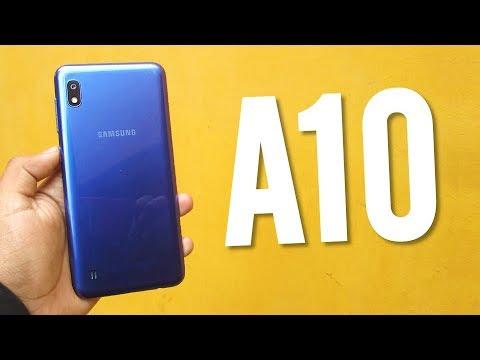 Samsung Galaxy A10 review, lo BUENO y lo MALO
