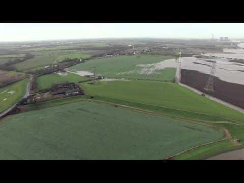 Gowdall Snaith Flood water 2015