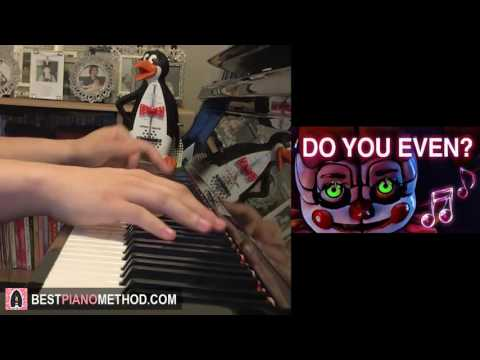 FNAF SISTER LOCATION Song - Do You Even - ChaoticCanineCulture (Piano Cover by Amosdoll)