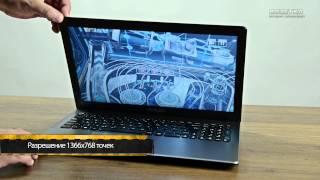 видео Ноутбук Asus X552MJ: отзывы, описание и характеристики