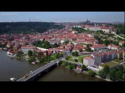 The splendour of Prague, capital of the Czech Republic  -  Dji Mavic Pro drone -  Skydronauts