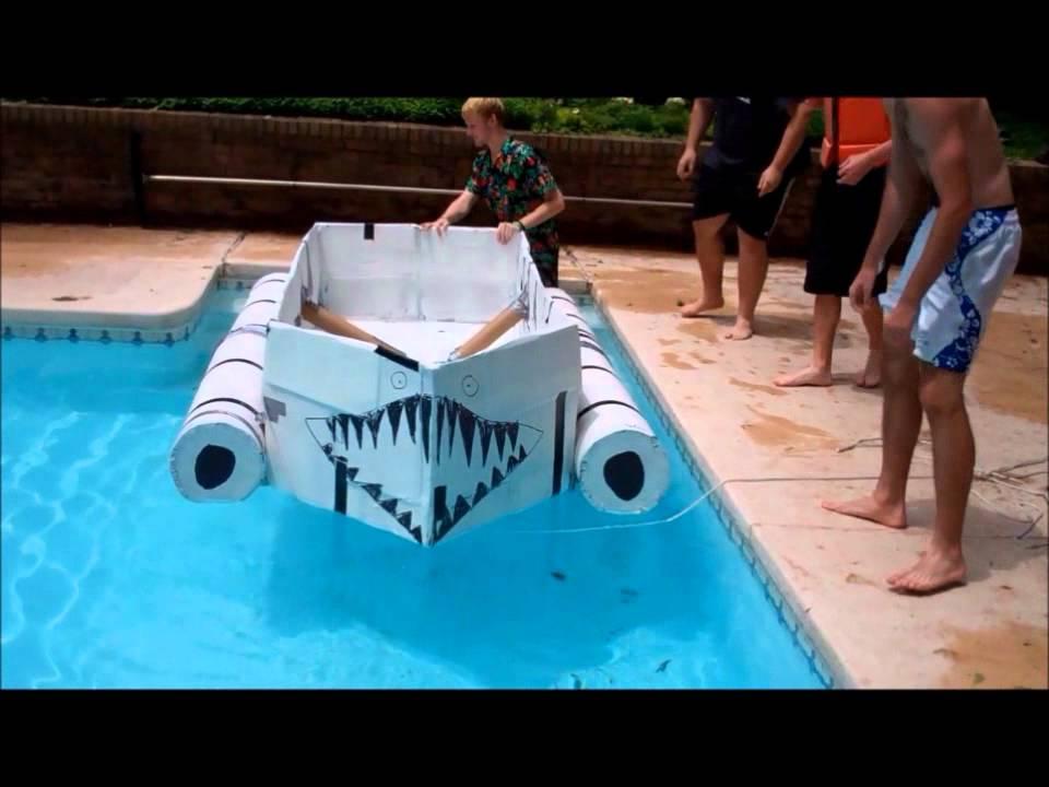 IH Senior Project Cardboard Boat
