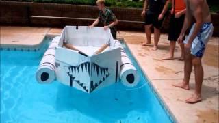 Ih Senior Project: Cardboard Boat