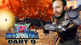 Earth Defense Force 5 Part 9 - Funhaus Gameplay