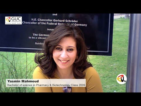 German University in Cairo Success Story Yasmin Mahmoud