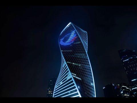 2019 IES Illumination Award: EVOLUTION TOWER, Moscow