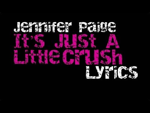 Jennifer Paige - It's Just A Little Crush [Lyrics]