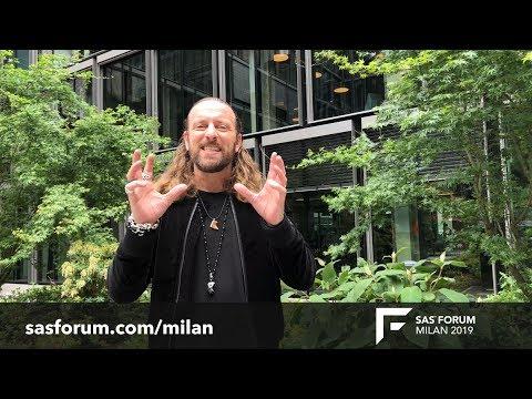Anders Indset a SAS Forum Milan - 4 giugno 2019