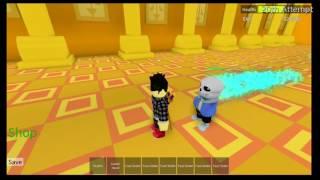 ROBLOX Undertale 3D Boss Battles: Sans (Solo)