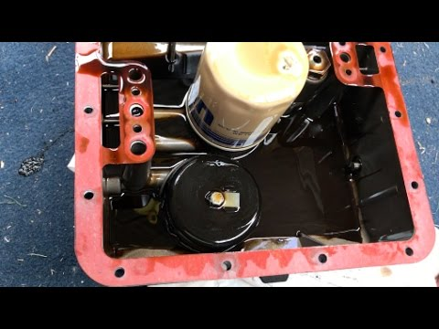 How to change the oil and filter on a Moto Guzzi