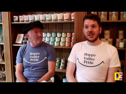 Happy Valley Pride interview with Mike Stephens and David Anthony Kennedy  by Nicola Jones