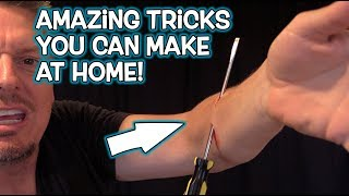 Gambar cover TOP MAGIC TRICKS You Can MAKE at Home!