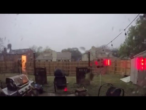 08 March 2016 Storm - Park Glen, Fort Worth TX