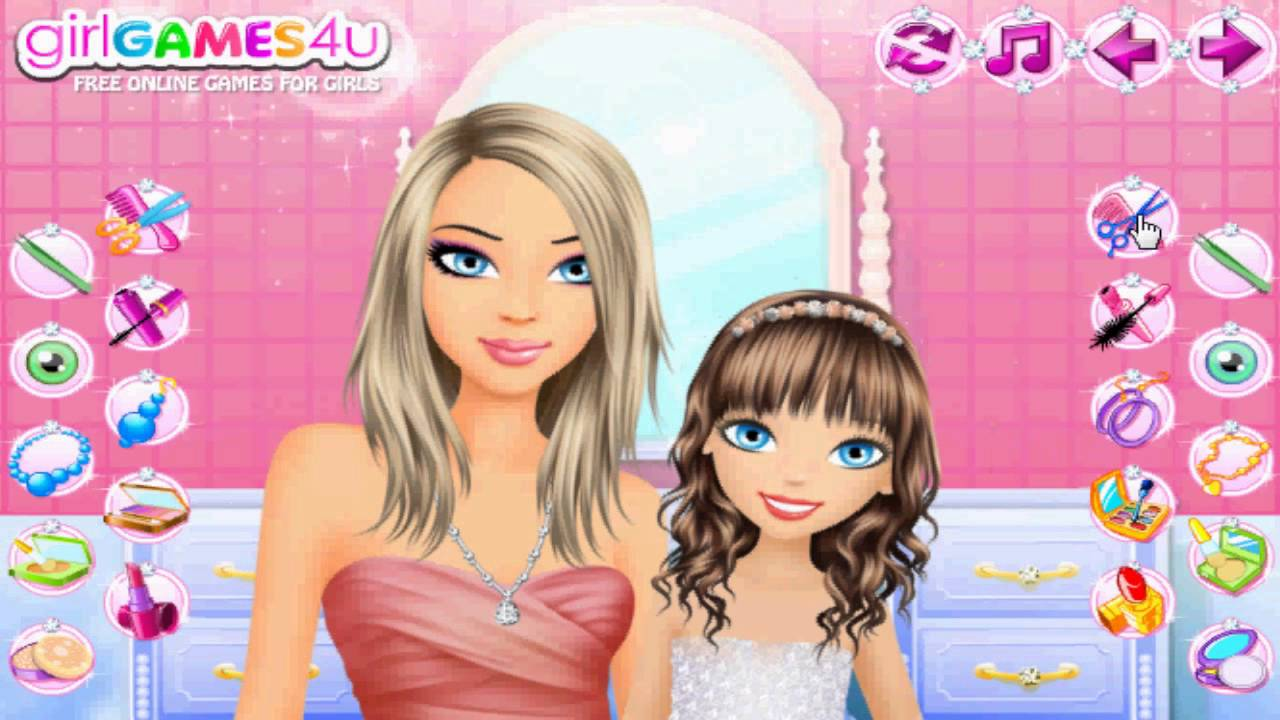 Mommy And Me Makeover Kids Games Girls Youtube