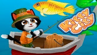 Город Котиков Kitty City #6 Спасаем СИГГИ и РЫБАЧЕМ Детское Видео про Жизнь Котиков Игровой мультик