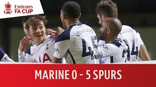 Marine vs Tottenham Hotspur (0-5) | Emirates FA Cup Highlights