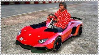 REAL LIFE MOD #43 - Epic Lamborghini Aventador Kart!! Custom Go Kart Track Racing