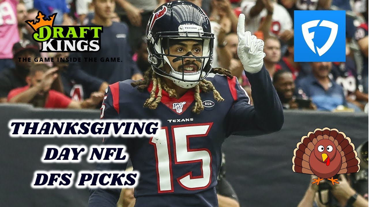 DRAFTKINGS & FANDUEL THANKSGIVING DAY NFL PICKS FIRST LOOK