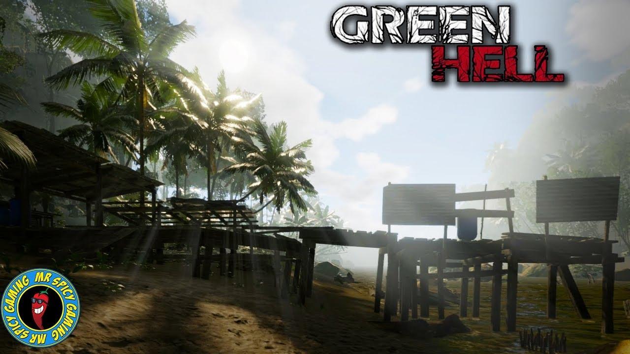 SALIR A ALGUNOS LUGARES FAMILIARES - Green Hell Gameplay S2 Ep2 + vídeo