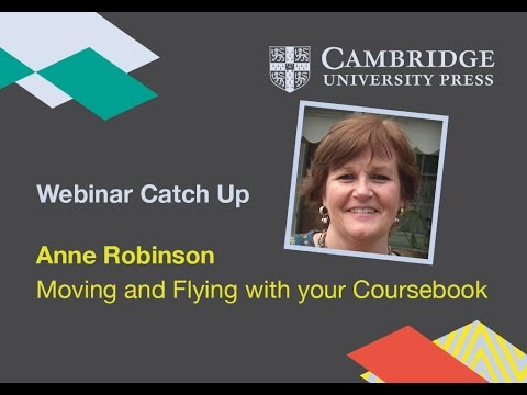 Moving and Flying with your coursebook
