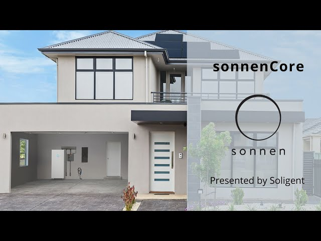 A Simple & Safe Home Battery Solution | sonnenCore | Presented by Soligent