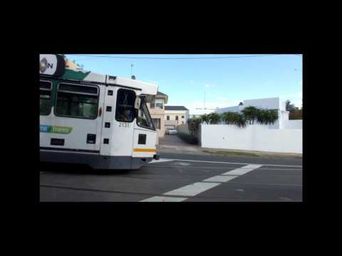 Melbourne Trams Routes 55 and 8, Last Days before becoming Route 58. April 2017