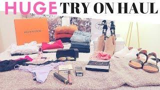 HUGE TRY ON HAUL- Divorce Gifts